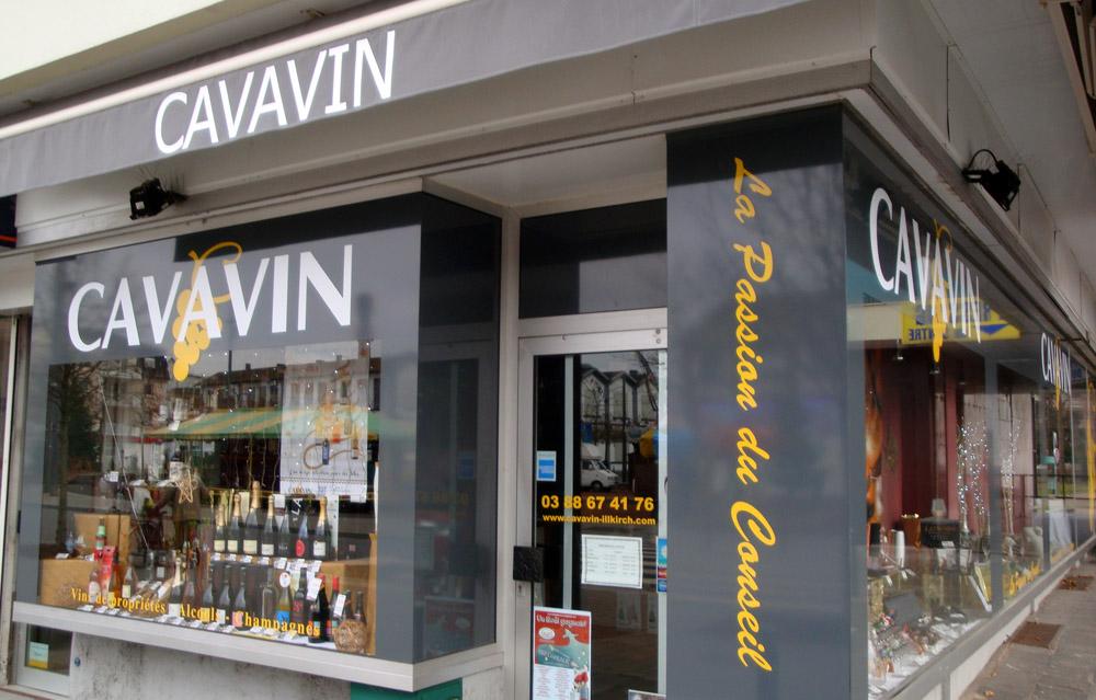 Vitrine Cavavin Illkirch